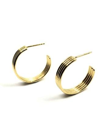Isobel Mini Gold Earrings