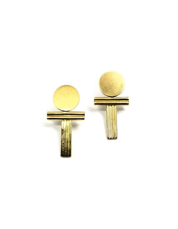 Pendientes de oro Rada de Joliet Joyas para INVITADISIMA. Complementos para tu look de invitada.