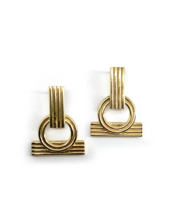 Pendientes de oro Sanoa de Joliet Joyas para INVITADISIMA tu web de invitadas