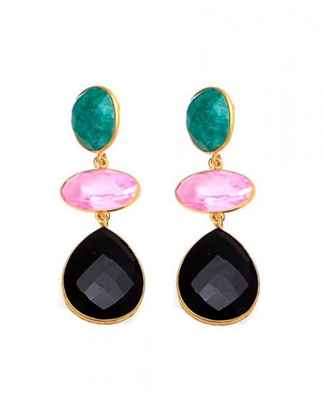 Amazonite Ivy earrings