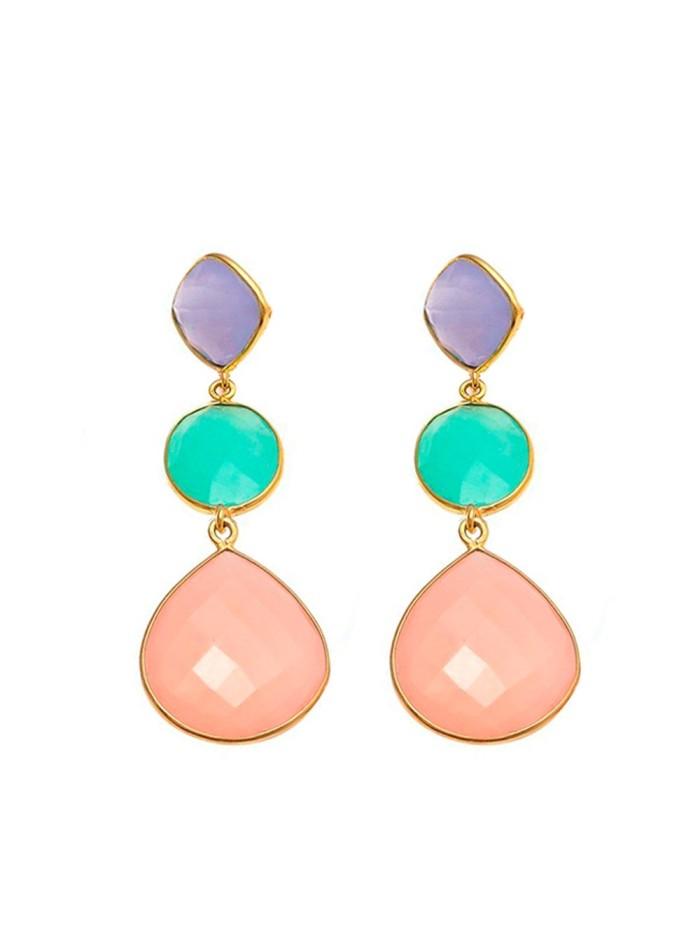 Pink Ribbon Earrings Welowe - 1