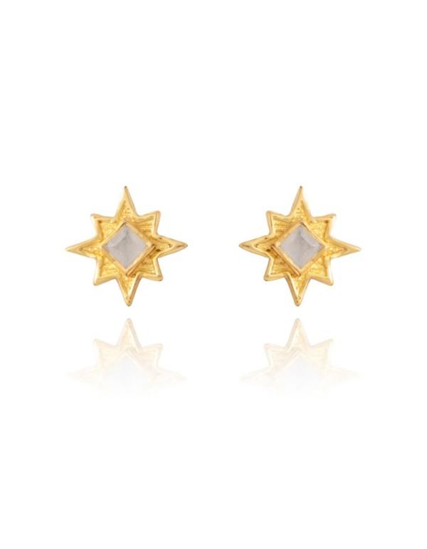 Pendientes pequeños con forma de estrella - Astrea LAVANI - 1