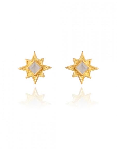 Small star-shaped earrings - Astrea LAVANI - 1
