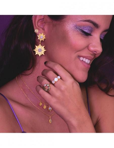 Small star-shaped earrings - Astrea LAVANI - 3