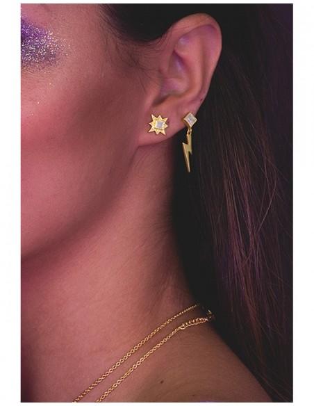 Small star-shaped earrings - Astrea LAVANI - 2