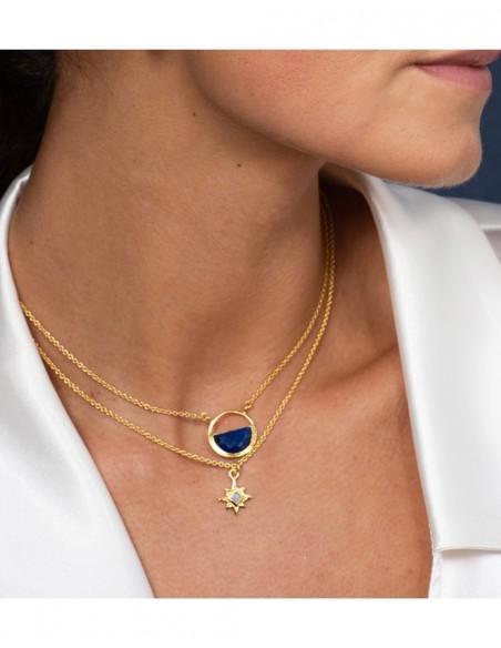 Collar con estrella de ocho puntas - Astrea LAVANI - 2