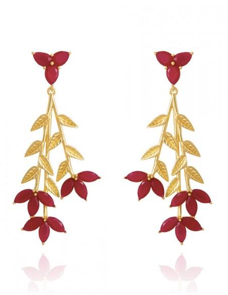 Long party earrings at INVITADISIMA