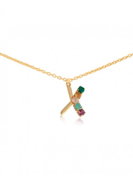 Shiny Initial necklace – X LAVANI - 1