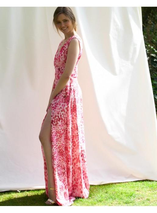 vestido para bodas de tarde invitada perfecta estampado