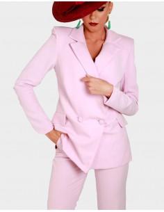 pantalon rosa pitillo