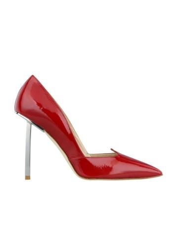 zapato salon rojo