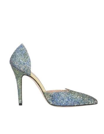 zapato salon glitter